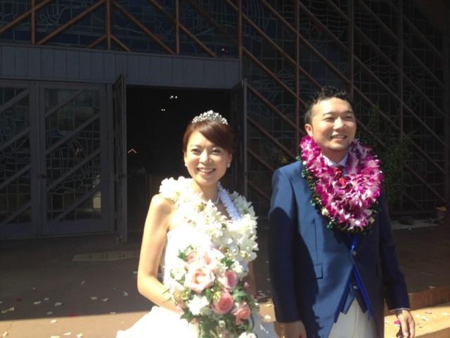 晴菜結婚式2
